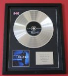 The Best Of .... Bond JAMES BOND 40th AnnIVERSARY EdITION CD / PLATINUM LP Disc